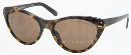 Ralph Lauren RL8070 Antique Havana Vintage with Green Lenses