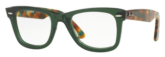 Ray Ban Glasses RX5121 Wayfarer Yellow Havana c2291