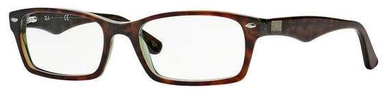 Ray Ban Glasses RX5206 Green