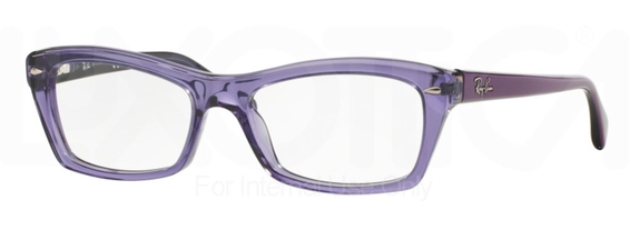 Ray Ban Glasses RX5255 Top Fuscia on Grey c5189