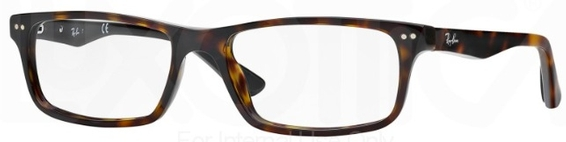 Ray Ban Glasses RX5277 Top Red on Grey c5228