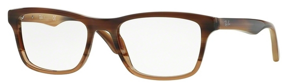 Ray Ban Glasses RX5279 Top Green on Brown