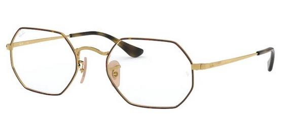 Ray Ban Glasses RX6456 Octagonal