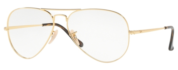 Ray Ban Glasses RX6489 Aviator