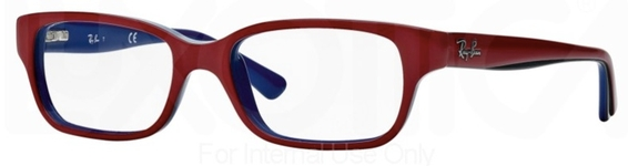 Ray Ban Junior RY1527 Top Red on Blue c3577