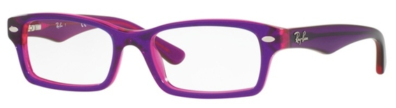Ray Ban Junior RY1530 Top Fuscia on Pink c3590