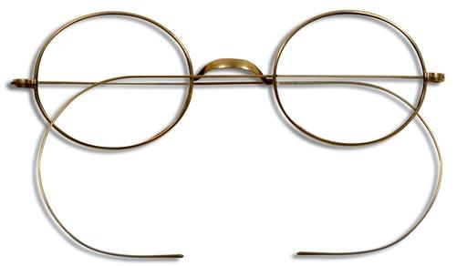 Chakra Eyewear Vintage Gold Specs Eyeglasses