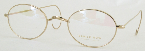 Savile Row Walmer 18Kt, Cable Temples Eyeglasses