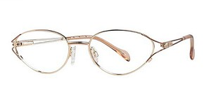 Modern Optical Enna Brown / Gold