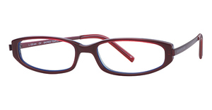 Kenneth Cole New York KC524 Sacred Temple Red Laminate