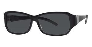 Calvin Klein CK780S Black W/Dark Green Gradie