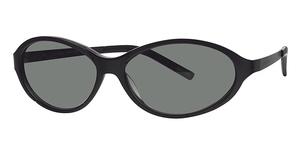 Calvin Klein CK435S Black W/Dark Green Gradie
