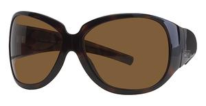 Calvin Klein CK677S Dark Tortoise W/Brown Len