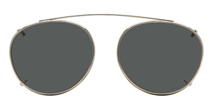 Hilco Sun Clip, Traditional Round Sunglasses