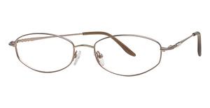 Silver Dollar Ruby Eyeglasses