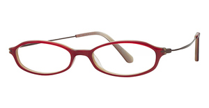 Marchon M-819T Ruby/Horn