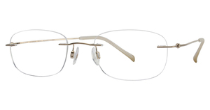 Charmant Titanium TI 8334E Satin Gold TEMPLES ONLY