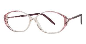 Silver Dollar Wisteria Eyeglasses
