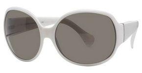 Calvin Klein CK686S White W/Smokey Grey Gradi