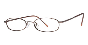 Modern Optical Pisces Brown