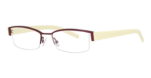 L'Amy Totem 1012 Burgundy/Yellow
