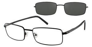 Revolution Eyewear REV543 Shiny Black