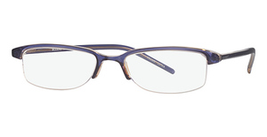 Modern Optical Flair Brown/Blue