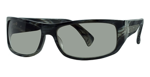 Calvin Klein CK830S Striped Black Horn
