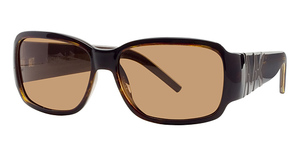 Michael Kors M2650SP Dark Tortoise w/Smoke Brown Polarized Lenses