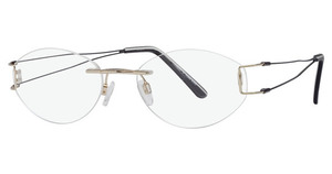 Aspex T9633 Satin Shiny Gold/ Black Temples