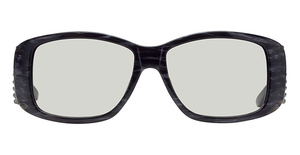 Miu Miu MU 05GS Black/Charcoal Ribbon
