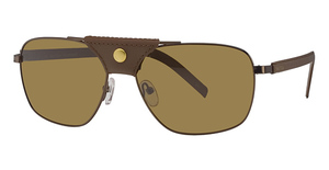 Nautica Explorer Polarized Brown/Brown Leather
