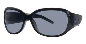 Michael Kors M2648S Black/Teal w/Teal Fade Lenses