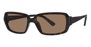 Michael Kors M2425SP Dark Tortoise w/Smoke Brown Polarized Lenses