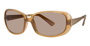 Michael Kors M2423S Nude Crystal w/Smoke Brown Lenses