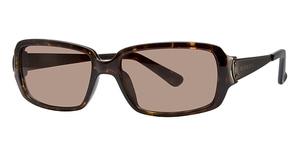 Michael Kors M2425S Dark Tortoise w/Smoke Brown Lenses