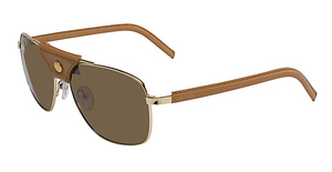 Nautica Explorer Polarized Light Gold/Tan Leather