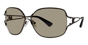 Michael Kors M2024S Dark Brown w/Dark Brown Fade Lenses