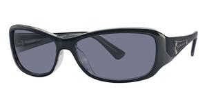 Michael Kors M2654SP Black w/Smoke Polarized Lenses