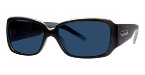 Michael Kors M2649SP Black Teal w/Smoke Fade Lenses