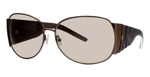 Michael Kors M2433S Dark Brown w/Smoke Brown Lenses