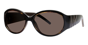 Michael Kors M2651SP Dark Tortoise w/Smoke Brown Polarized Lenses