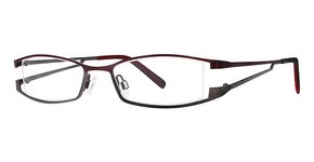 Modern Optical Delora wine/matte gunmetal