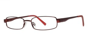 Modern Optical Laguna Beach Burgundy
