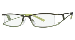 Aspex LR-7502 Matt Olive/Lime Green