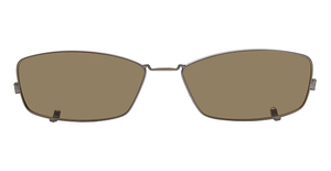 Nautica N7118 Clip Satin Brown