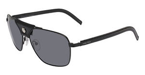 Nautica Explorer Polarized Coal/Black Leather