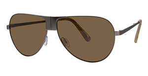 Nautica Passport Polarized Matte Gold