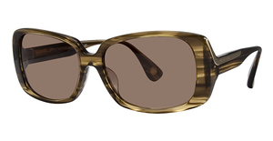 Michael Kors MKS558 Brown Crystal Horn