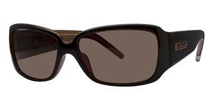 Michael Kors M2649S Claret w/Smoke Brown Lenses